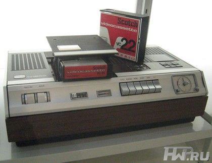 Первые видеомагнитофоны
