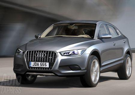 Audi Q3 - та же платформа, что и Tiguan