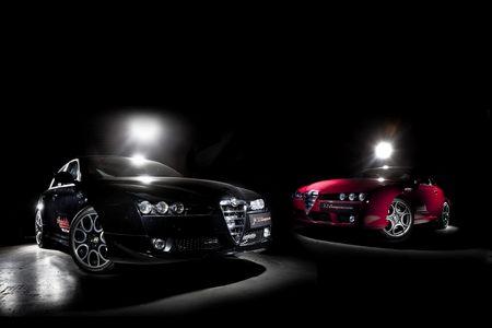 Тюннинг Alfa Romeo Brera S